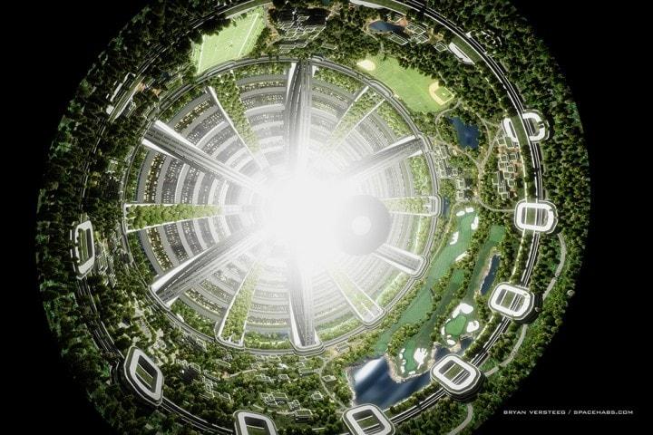 città spaziale nella vita reale (2)