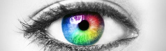 Che colori vedete osservando questo disco rotante?