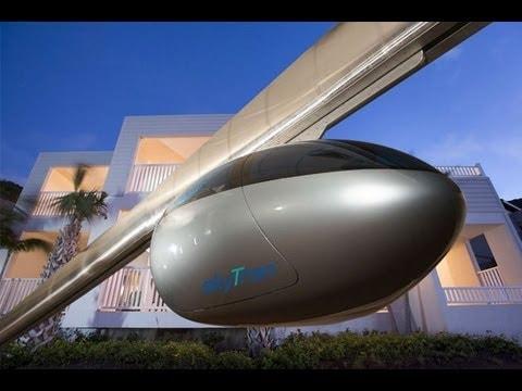 Israele testa il treno a levitazione magnetica, ancora