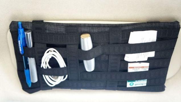 organizzare auto gadget