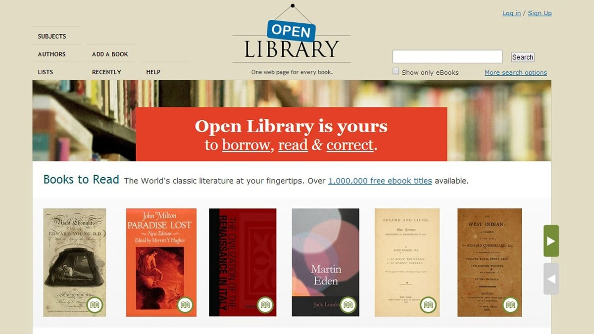 3 open library
