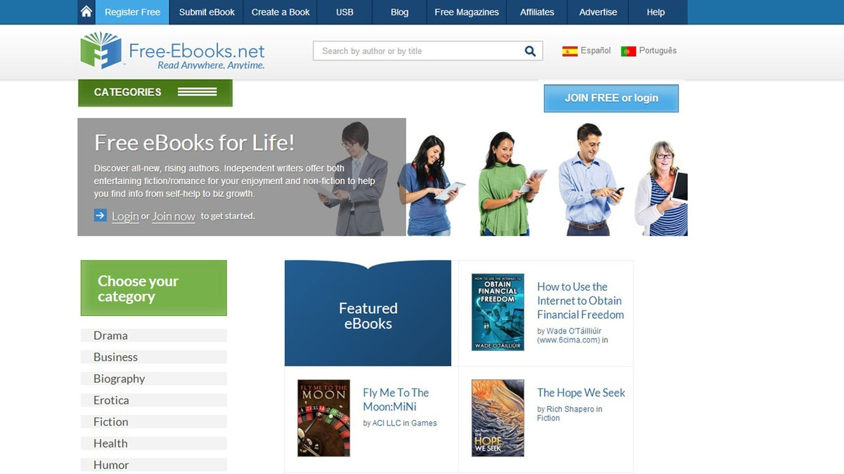 7 free ebooks