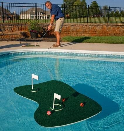 Accessori per giardino - buca golf galleggiante