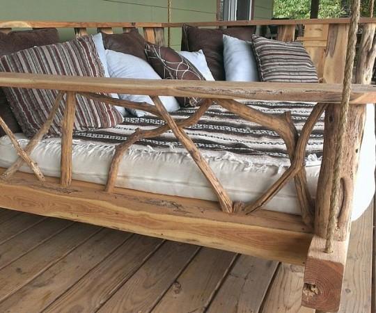 Accessori per giardino - letto a dondolo