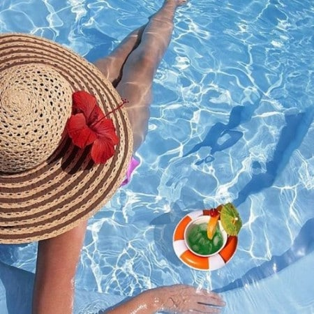 Accessori per giardino - set per drink galleggiante