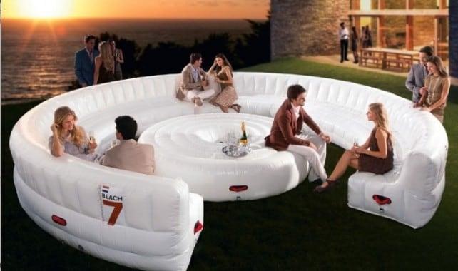 Accessori per giardino - super divano gonfiabile