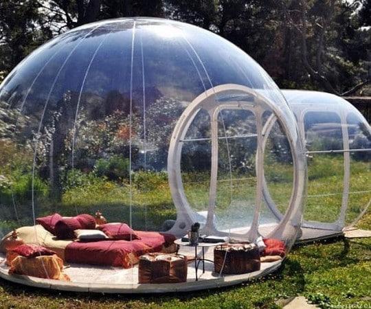Accessori per giardino - tenda da campeggio a bolla