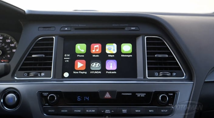Apple CarPlay Demo su Hyunday Sonata (1)