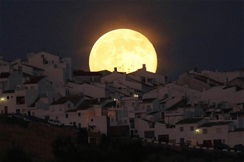 Foto della superluna (1)