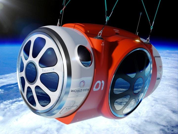 Un giro turistico in mongolfiera, ma nello spazio