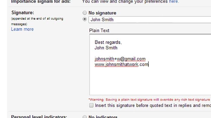 Sfruttare infiniti indirizzi gmail (4)