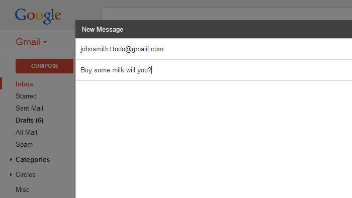 Sfruttare infiniti indirizzi gmail (6)