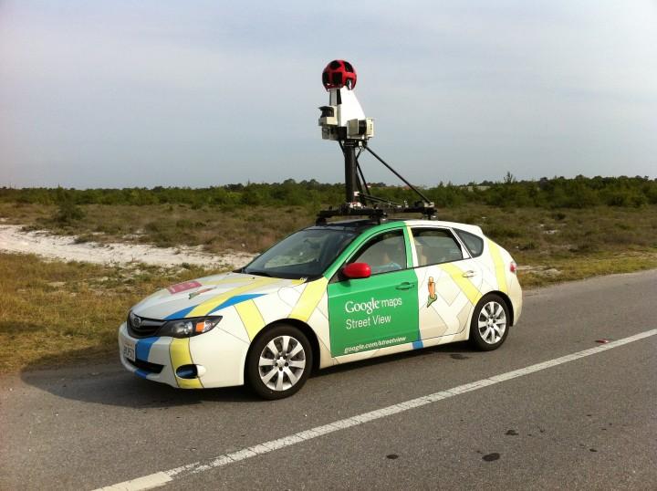 Le auto di Street View identificano le fughe di gas
