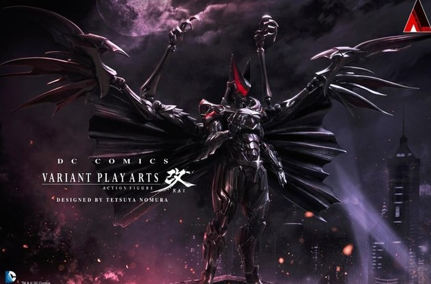 E se Batman lo avesse disegnato il designer di Final Fantasy?