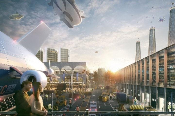 L'aeroporto Heathrow di Londra potrebbe diventare una città futuristica
