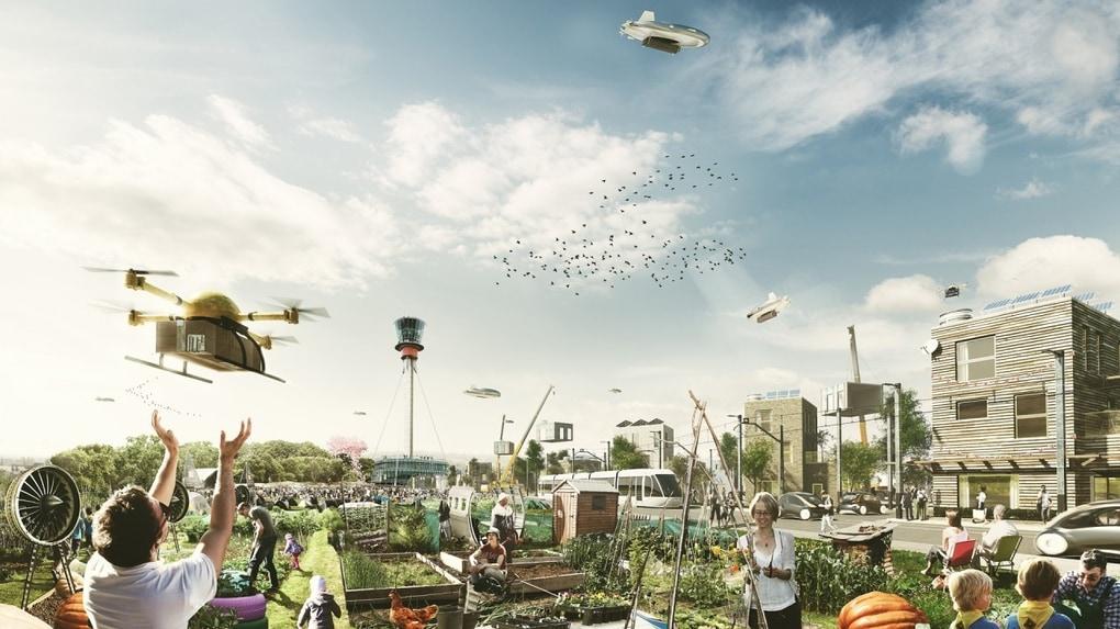 L aeroporto heathrow di londra potrebbe diventare una città