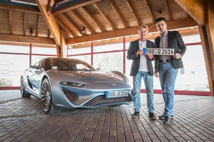 QUANT  e-Sportlimousine, la prima auto a batterie di flusso approvata per la circolazione
