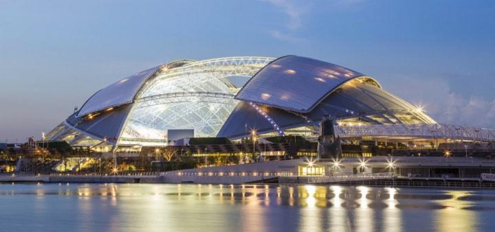 Il nuovo stadio di Singapore: la cupola più grande mai costruita (foto)