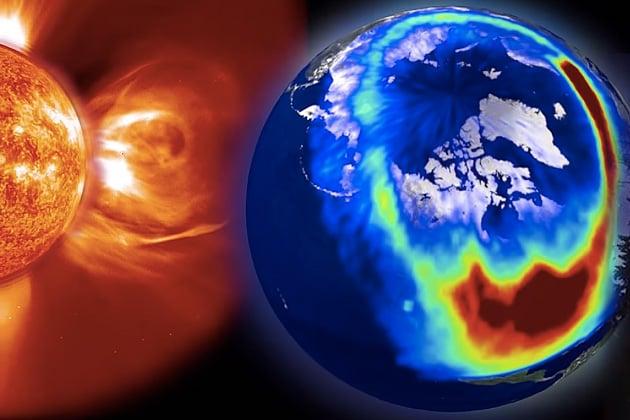 La tempesta solare del 2012 poteva causa duemila miliardi di danni