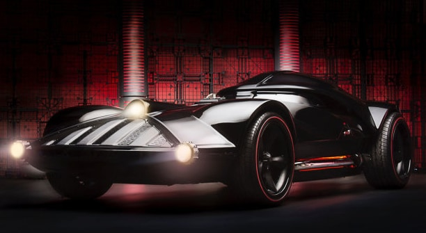 Hot Wheels crea l'auto di Darth Vader (video)