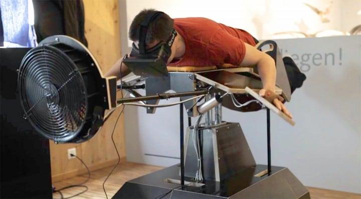 Birdly, volare con Oculus Rift