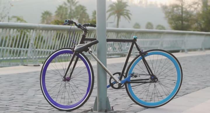 La bicicletta che non può essere rubata