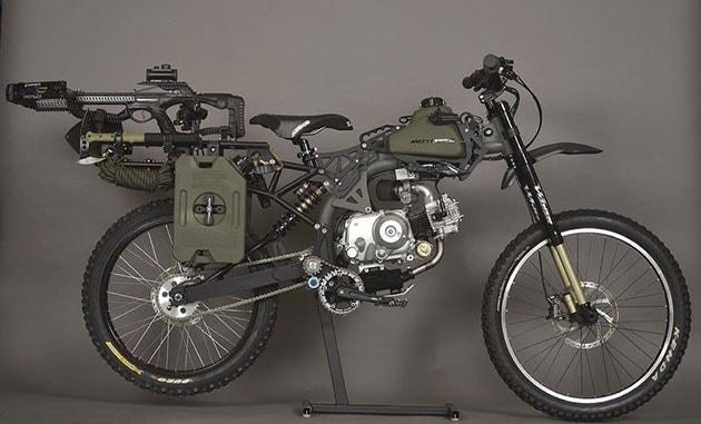 bicicletta da esercito per apocalisse 2