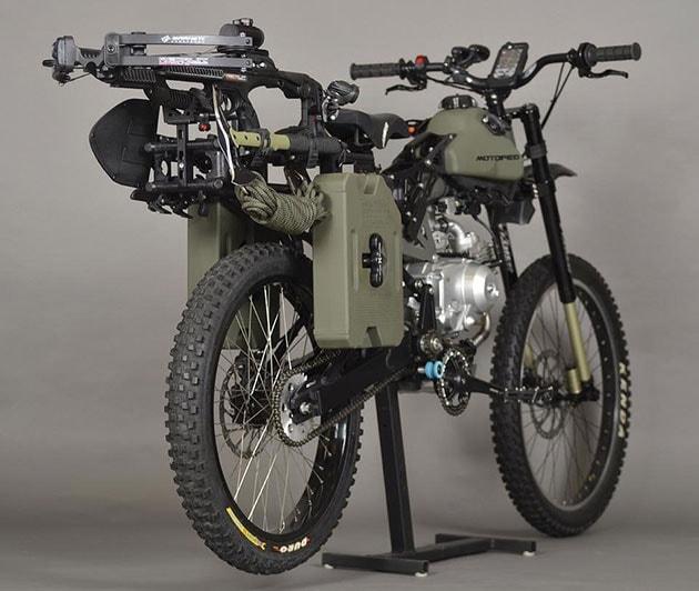 bicicletta da esercito per apocalisse