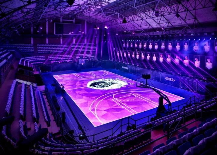 campo da basket touch