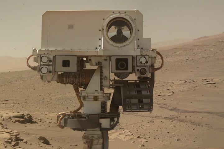 Il rover Curiosity dopo due anni su Marte (foto)