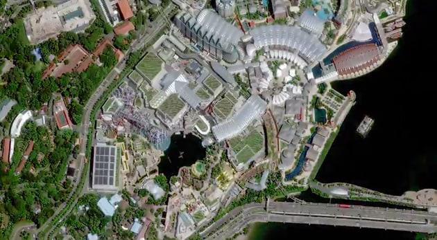 satellite immagini alta risoluzione