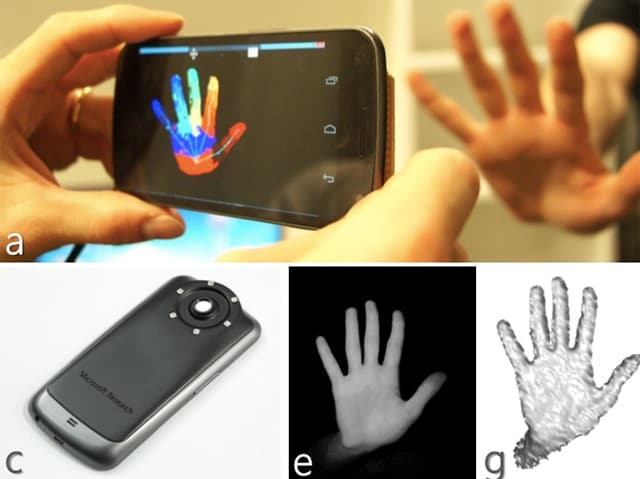 smartphone kinect