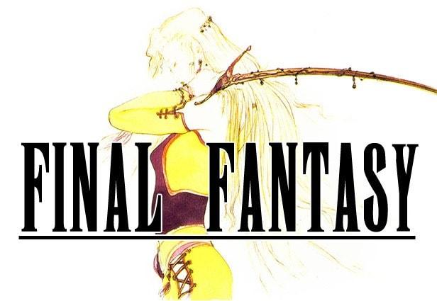 Font famosi - 9 Final Fantasy