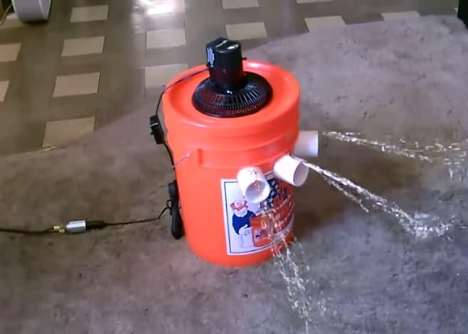Come costruire il vostro Ice Bucket... Climatizzatore (video)
