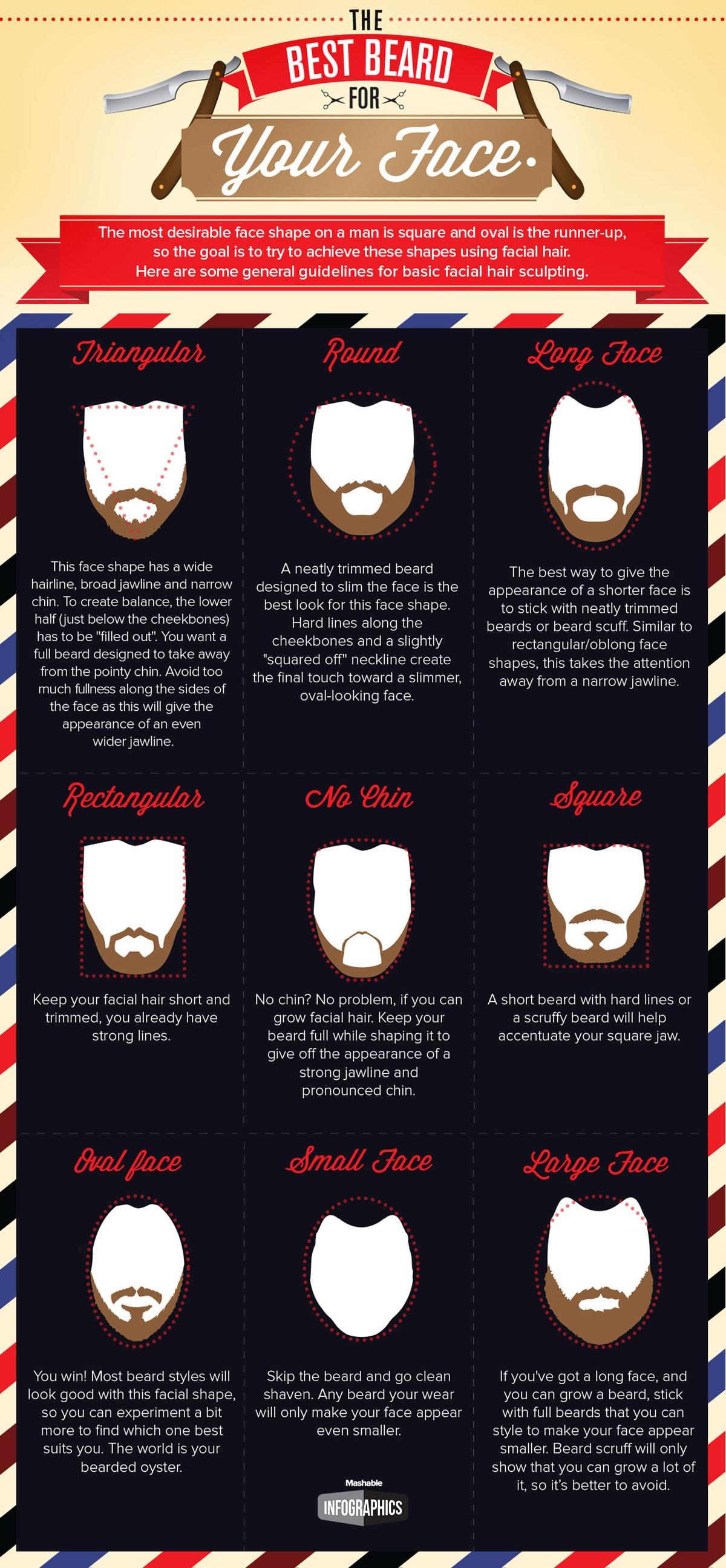 infografica barba