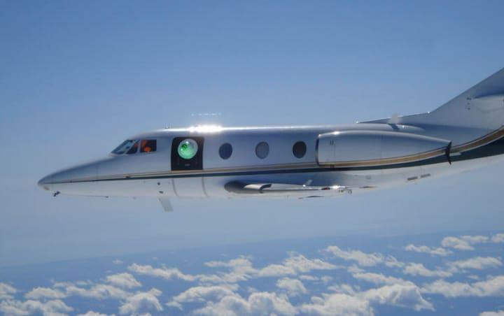 La DARPA testa l'aereo con i raggi laser