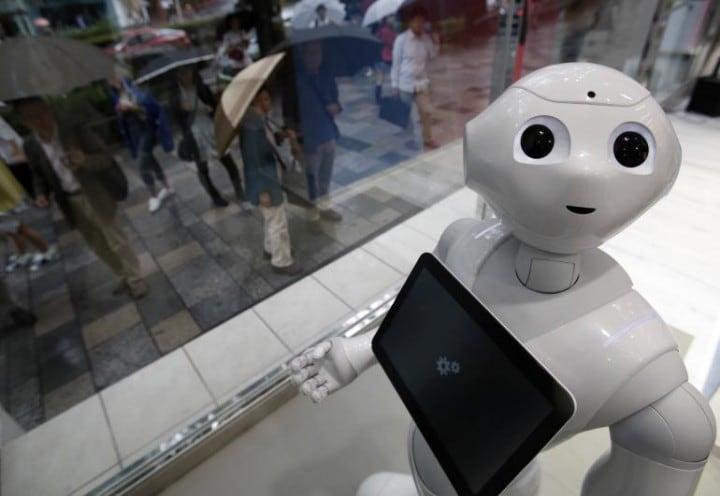 Il robot Pepper arriverà negli Stati Uniti