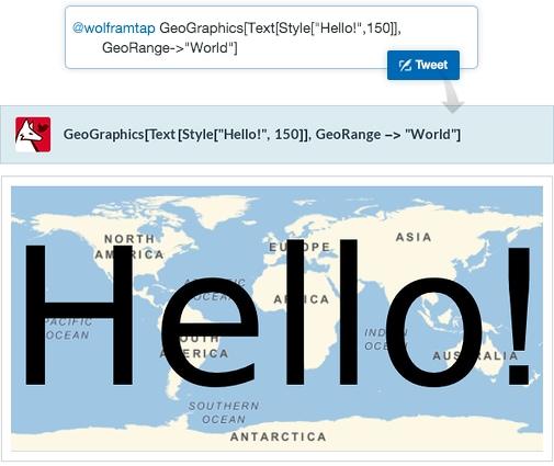 Wolfram Alpha introduce il supporto ai tweet con Tweet-a-Program