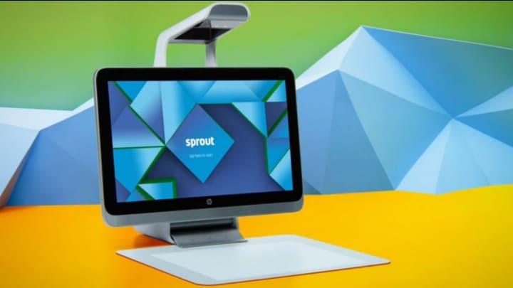HP Sprout: il rivoluzionario pc per menti creative (video)