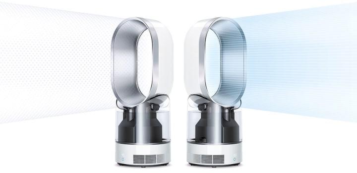 L'umidificatore Dyson che purifica l'aria con i raggi ultravioletti