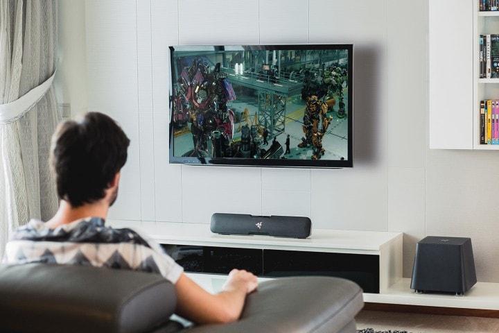 Razer presenta la soundbar Leviathan