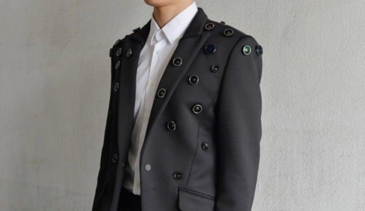 giacca telecamera