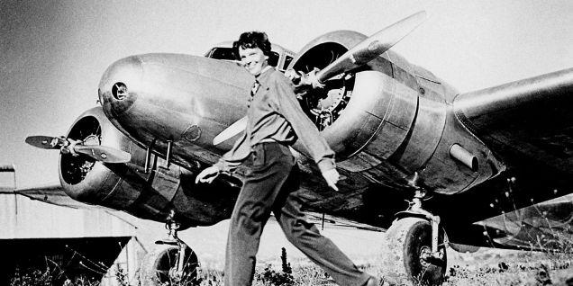 Trovato un pezzo dell'aereo di Amelia Earhart