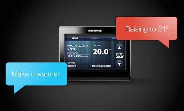 Un termostato smart che si attiva con i comandi vocali (video)