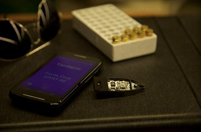 Un sensore per tracciare ogni proiettile sparato da un poliziotto