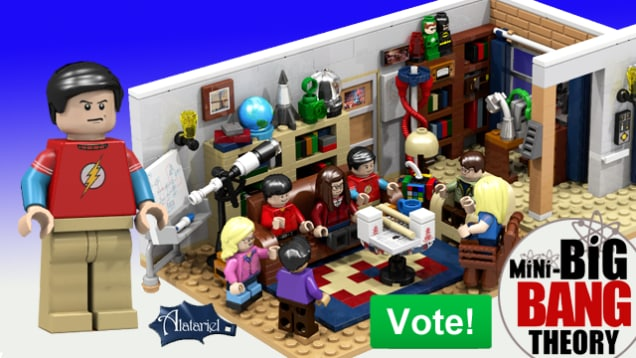 The Big Bang Theory Lego (2)