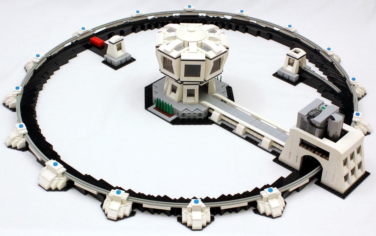 acceleratore di particelle lego
