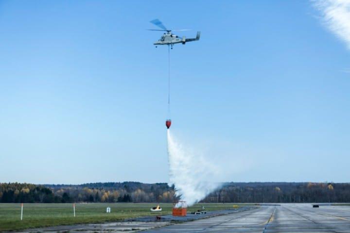 Indigo, il drone in grado di guidare un elicottero per spegnere gli incendi (video)