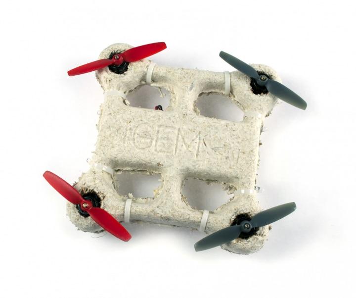 drone fungo biodegrabile fhd