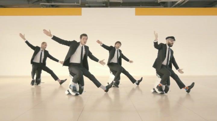 """""""I won't let you down"""": il nuovo video degli OK Go stupisce come al solito (foto e video)"""